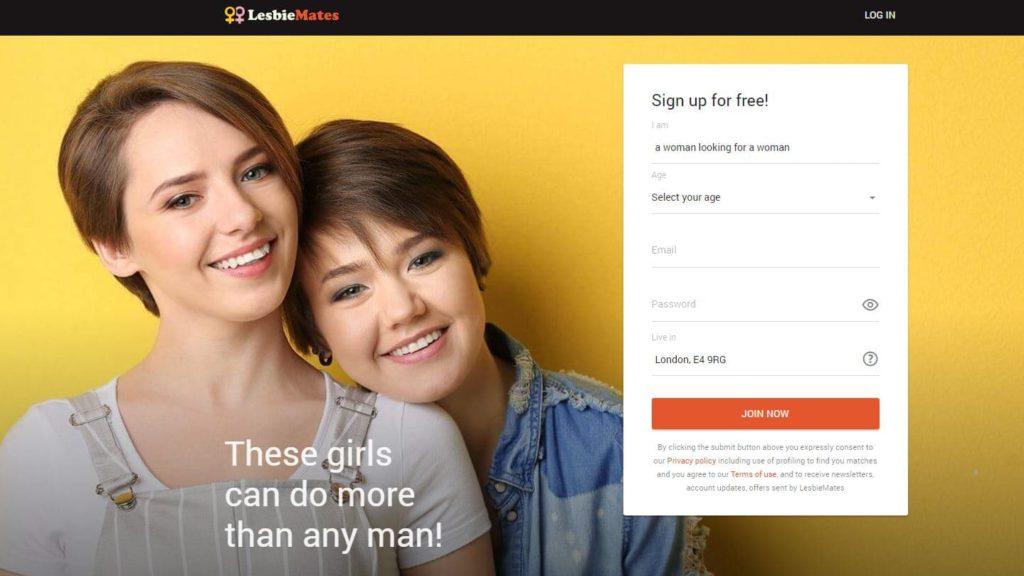 LesbieMates site
